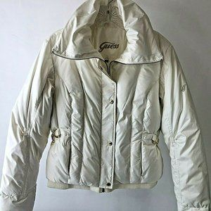 Guess DOWN Puffer Coat Jacket Women's Size Large